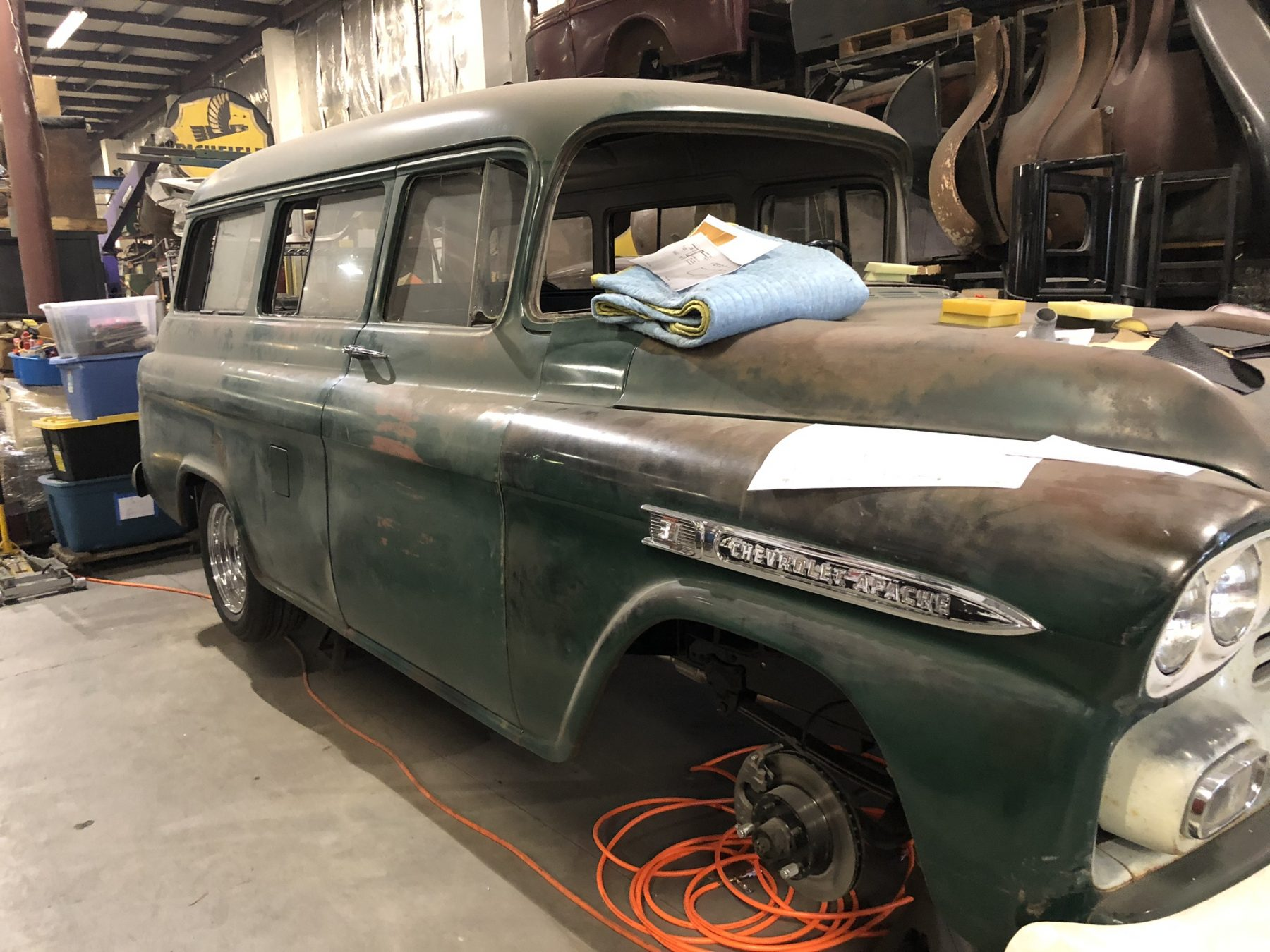 Chevy Apache Upholstery