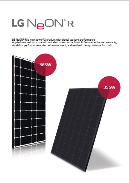 LG Neon R Panels