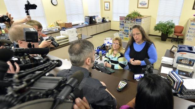 Kim Davis and media