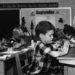 children praying in 1962