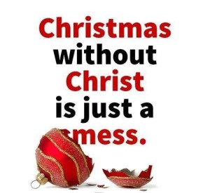 christmas without christ