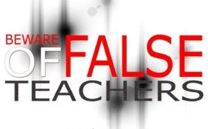 false teachers
