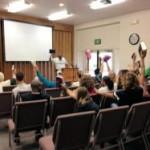 family praise and worship - group gathering