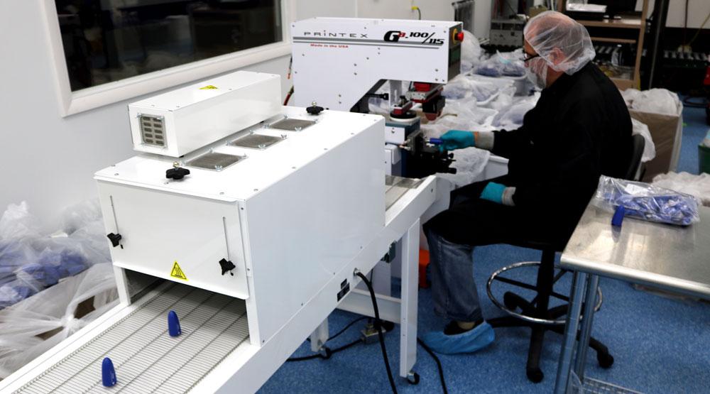 Omega Plastics Pad Printing