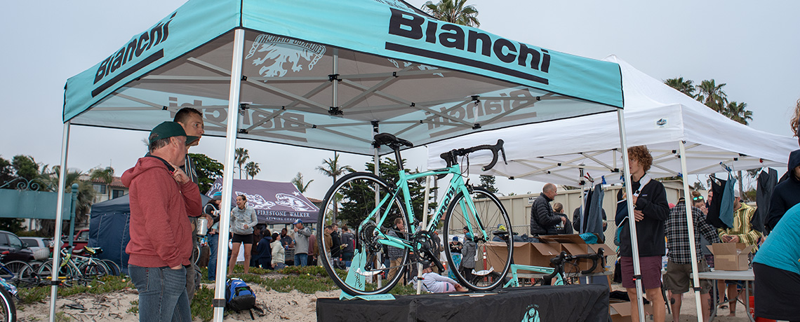 Win a free Bianchi road bike at Reef & Run
