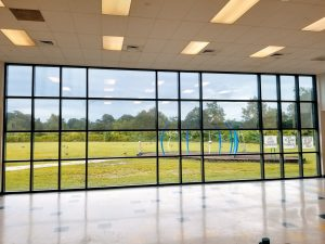 school-interior-windows-3M Low-E-film-installed