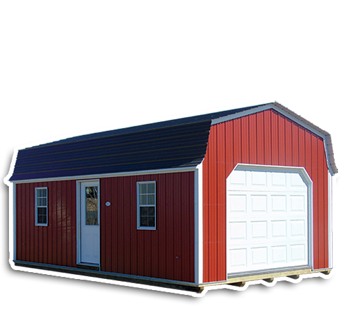 Gambrel Lofted Garage