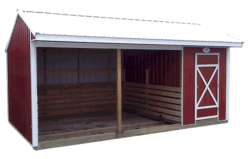 Animal Shelters With Tack Room