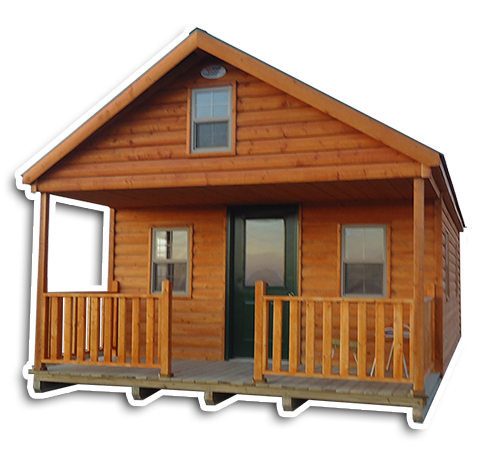 Deluxe Cabins - Traditional Log Siding