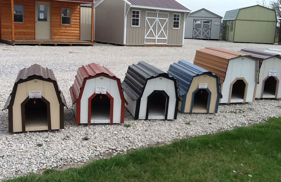 MidWest Storage Barns Dog Houses