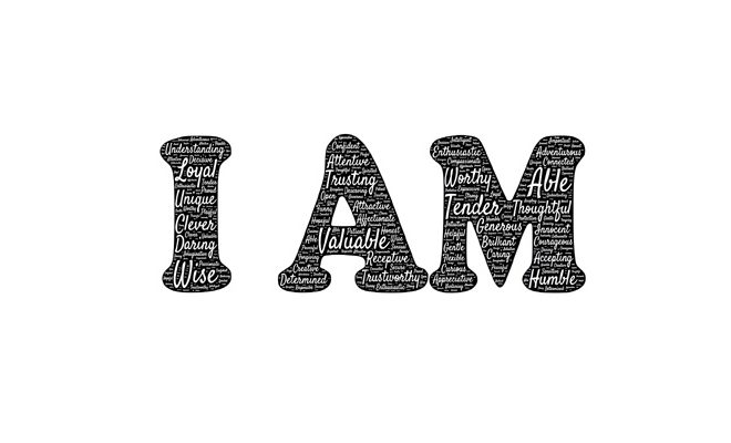 "The power of the words ""I am"""