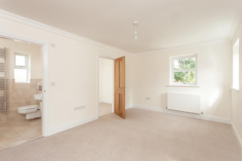 bedroom before virtual staging York
