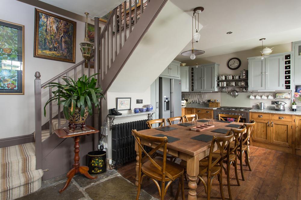 Photograph of bespoke hand-made Kitchen in York