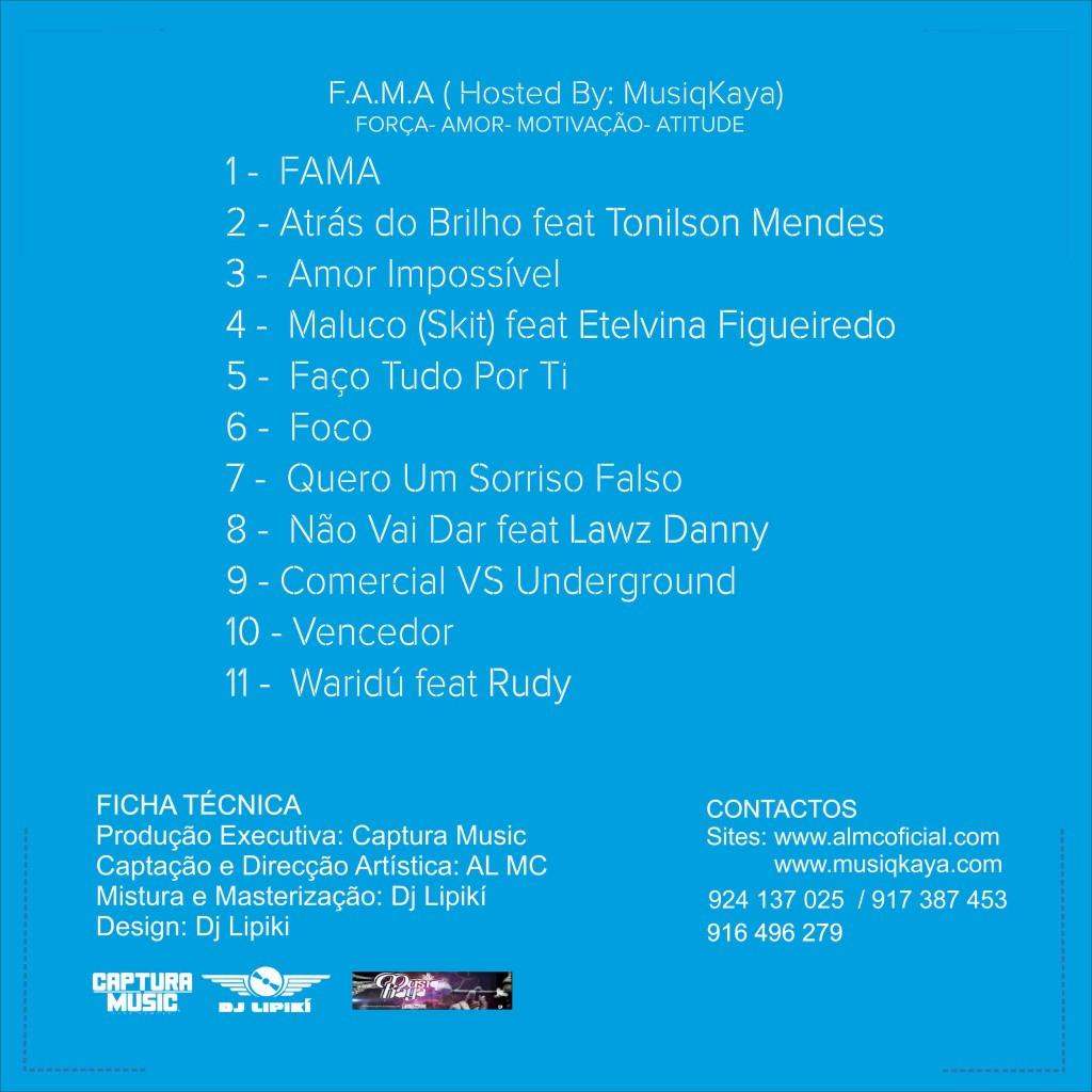F.A.M.A ( Capa Atrás )