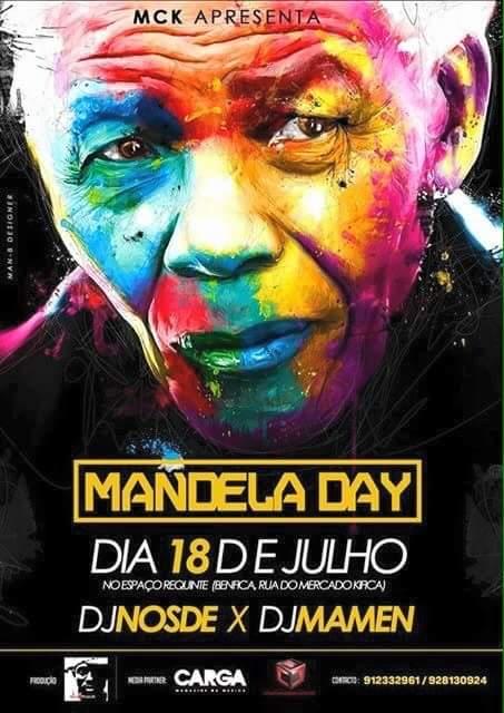 Mandela Day Banner