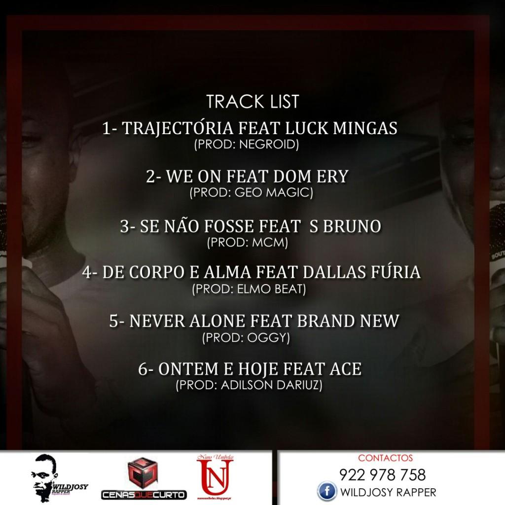 wildjosy rapper mixtape tracklist