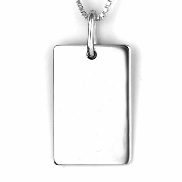 Sterling Silver Prints - Dog Tag
