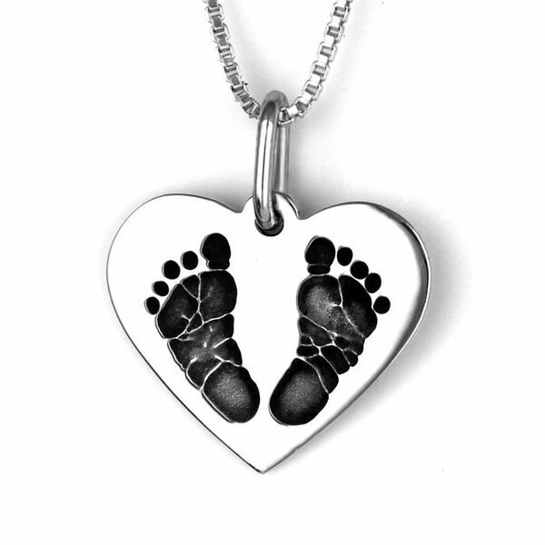 Foot Print Necklace