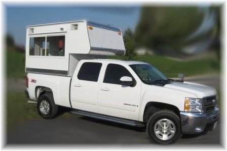 HOME FOR KUNTRY KUSTOM RV TRUCK TOPPERS