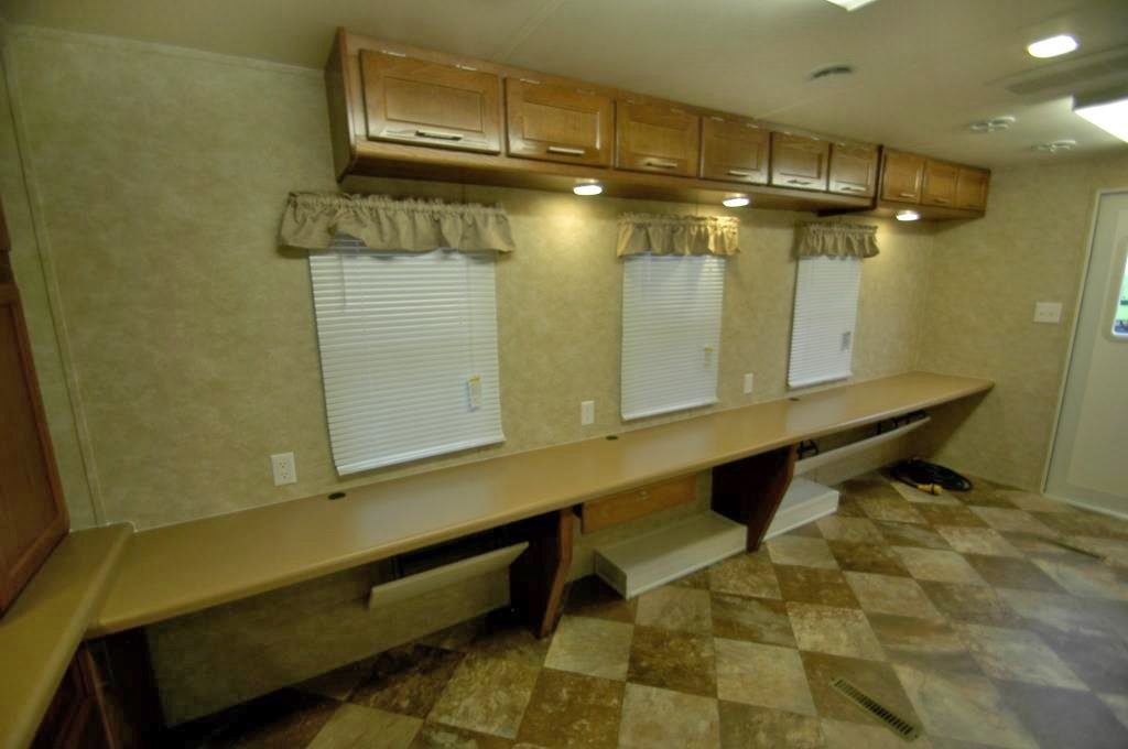 cashier trailer photos with clerking counter tops