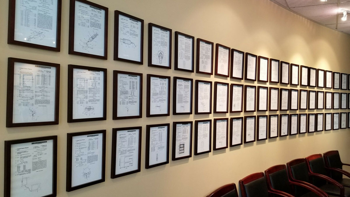 cao patent wall