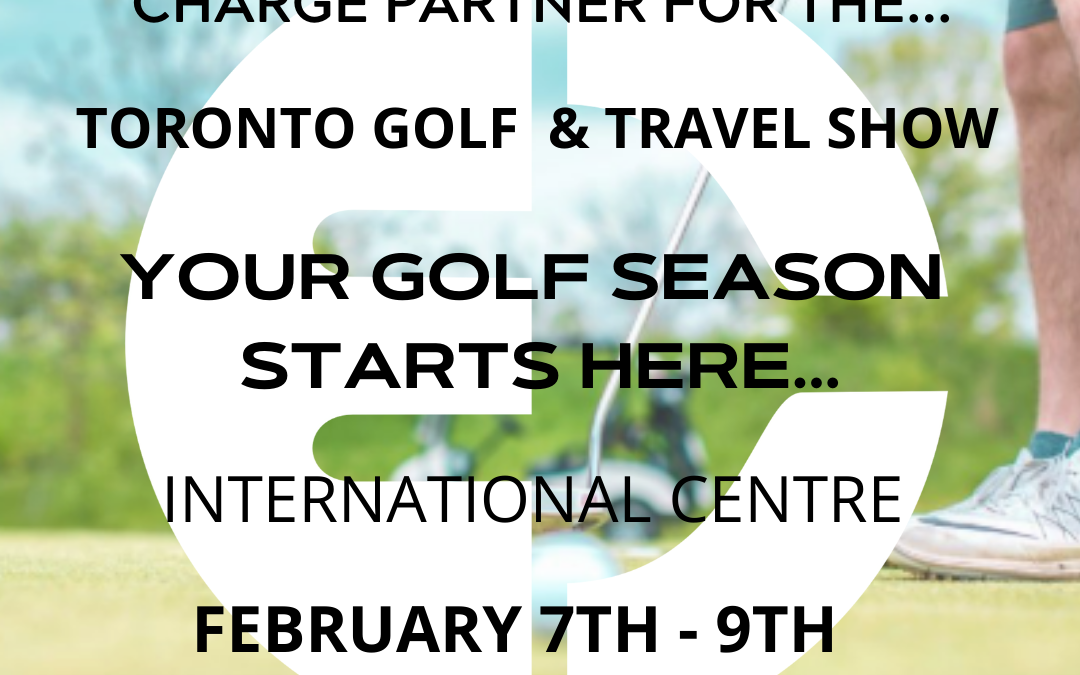 Maxxcharge is the exclusive charge partner for the Toronto Golf & Travel Show!