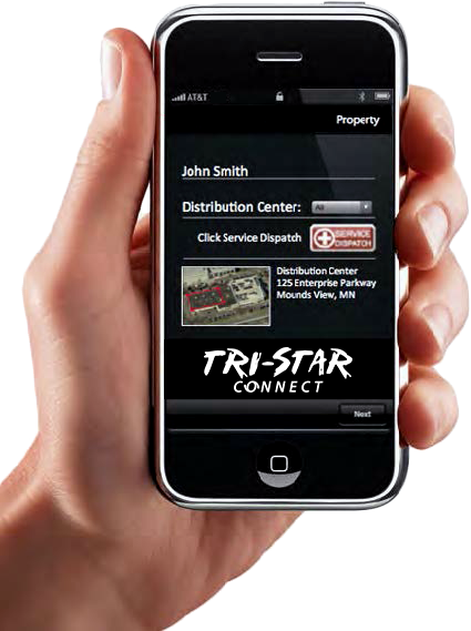 Tri-Star Roofing application