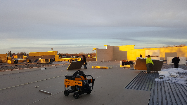 Commercial Roofing Project in Lapeer