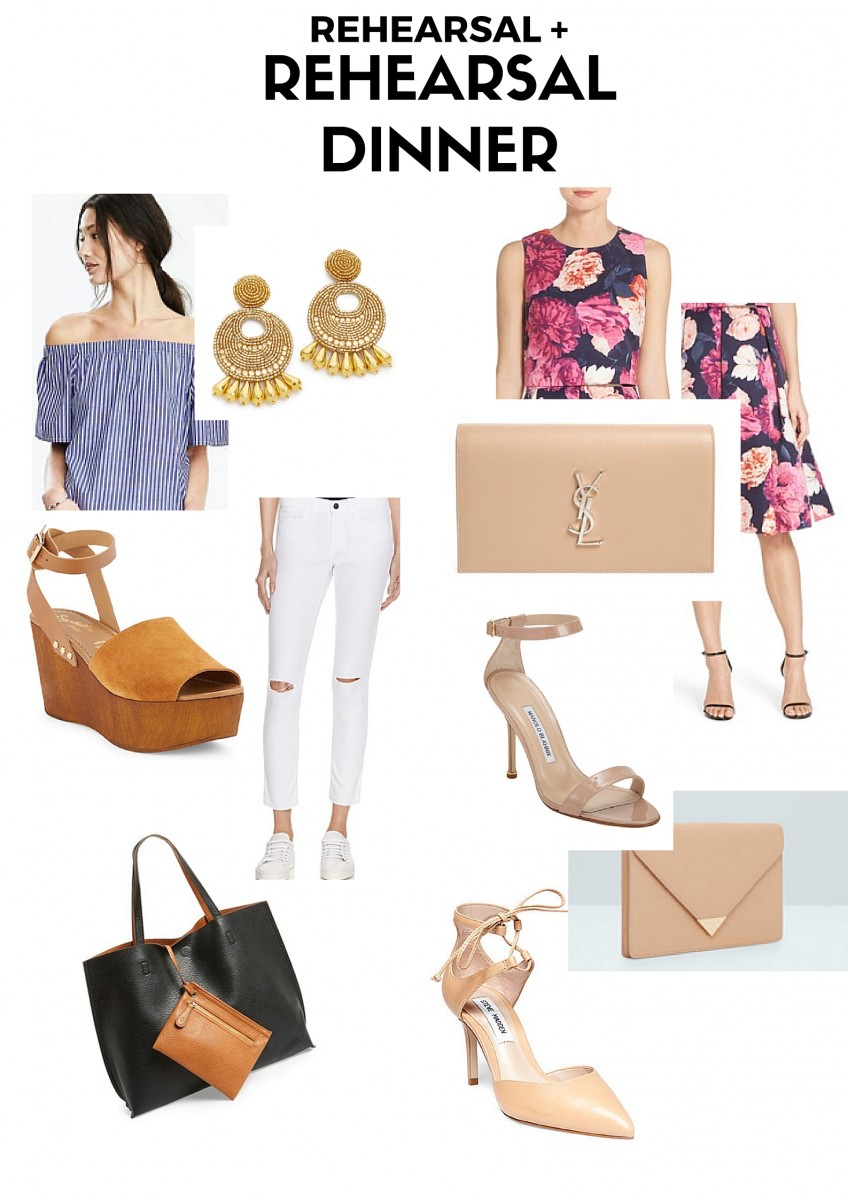 Style blogger Ashley Deatherage of Never Without Lipstick shares what to wear as a summer wedding guest | summer wedding outfit, what to wear to a summer wedding, summer wedding guest outfit, rehearsal dinner outfit guest
