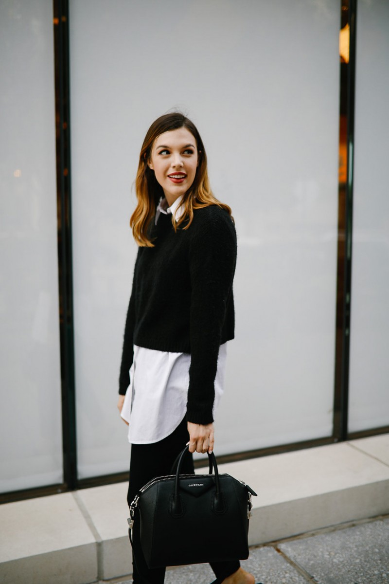 Style blogger Ashley of Never Without Lipstick shares 5 ways to update your fall layering for outfits | layering outfits, layering outfits fall, layering outfits simple, outfit ideas, outfits for women, outfit inspiration