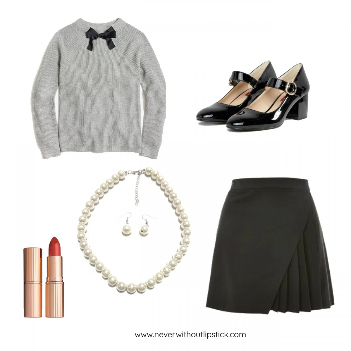 Style blogger Ashley Deatherage of Never Without Lipstick shares 3 easy, office appropriate Halloween costume ideas | halloween costumes, diy halloween costumes, halloween costumes for work, easy halloween costumes, halloween costumes for women, veronica lodge costume, riverdale costume | Halloween Costume Ideas for the Office featured by top Dallas fashion blog, Never Without Lipstick