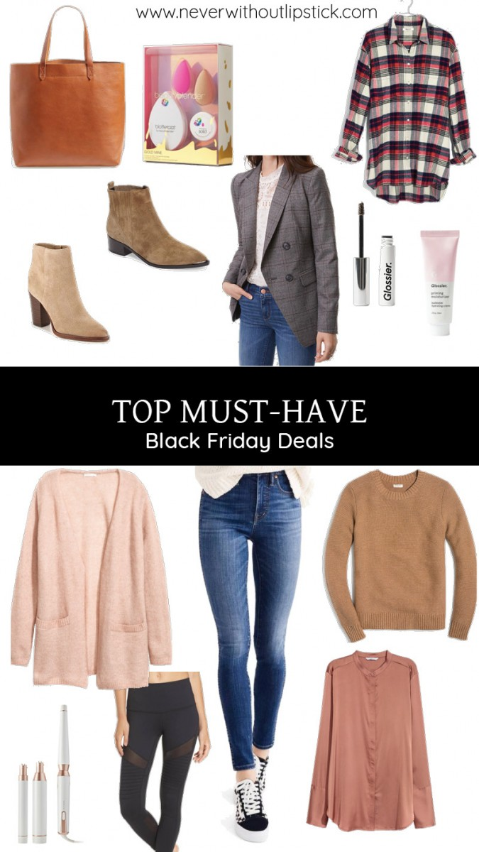 Top 20 Must Have Black Friday Deals | Never Without Lipstick