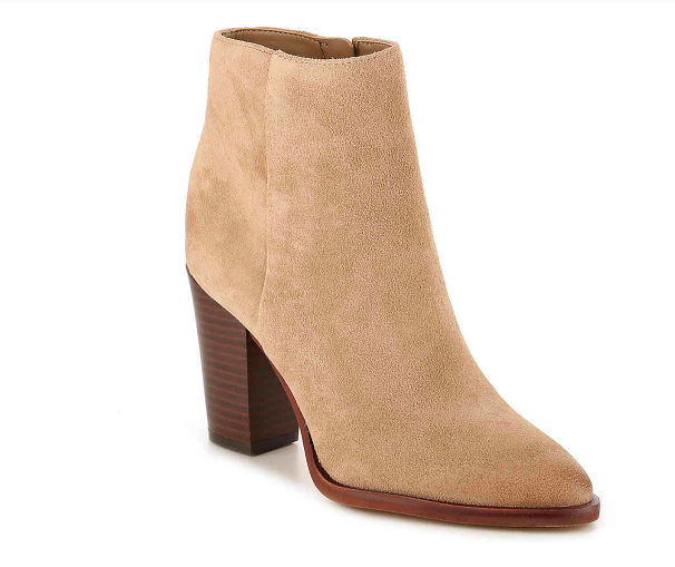 Style blogger Ashley of Never Without Lipstick shares her favorite pairs of boots | over the knee boots, boots fall, boots outfit, sam edelman boots, marc fisher booties, boots fall 2017, booties 2017 outfits, casual outfits, fall outfits | Cute Boots and Booties featured by top US fashion blog, Never Without Lipstick: image of Sam Edelman Blake booties