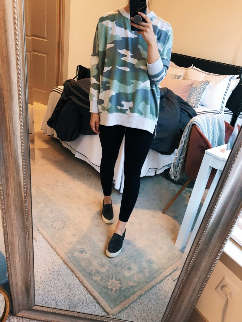 summer to fall transition outfits, fall outfit ideas, casual fall outfit, fall transition outfits, fall transition outfits for work | Summer to Fall Outfits featured by popular Dallas fashion blogger, Never Without Lipstick: Casual Athleisure