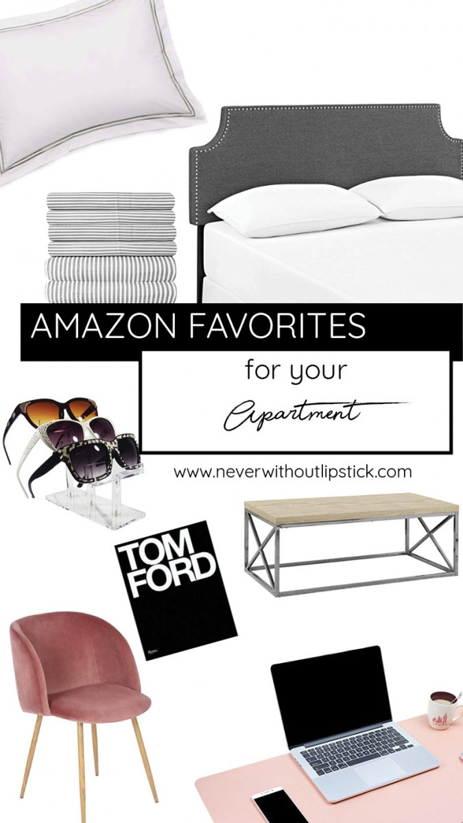 apartment decorating, apartment ideas, apartment decorating on a budget, amazon favorites | 19 Amazon Favorites for Your Apartment featured by popular Dallas life and style blogger, Never Without LIpstick