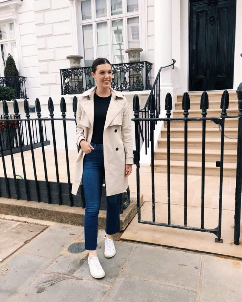 travel outfit, london outfit, casual london outfit, touring outfit, fall outfit | London and Ireland Itinerary featured by popular Dallas travel blogger, Never Without Lipstick