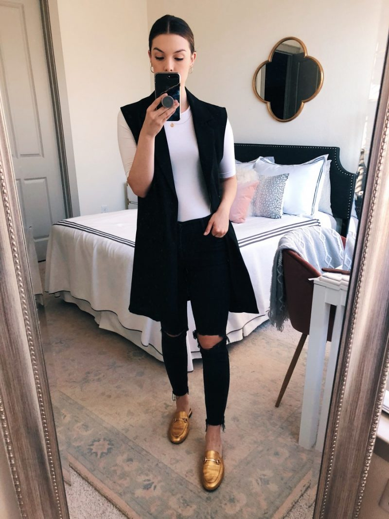 XXX | fall work outfits, casual fall work outfit, fall work outfits jeans, trendy fall work outfits, fall outfit idea, fall outfit inspo, givenchy antigona, fall work outfit flats | | 5 Easy Fall Work Outfits featured by popular Dallas fashion blogger, Never Without Lipstick