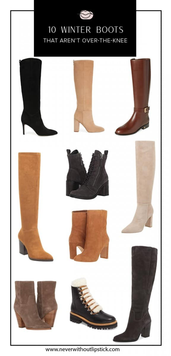 winter boots, winter boots 2018, knee high winter boots, snow boots, lace up winter boots, winter outfit ideas | cute winter boots featured by top Dallas fashion blog, Never Without Lipstick