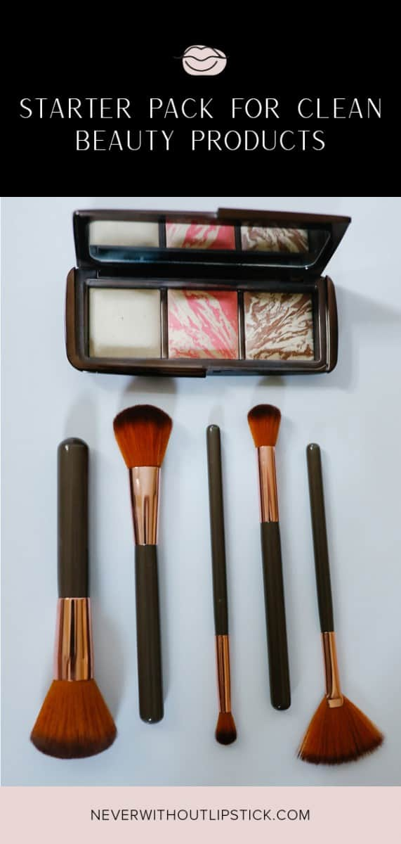 clean beauty products, clean beauty makeup, clean beauty products skin care, clean beauty tips | Clean beauty products starter pack featured by top Dallas beauty blog, Never Without Lipstick