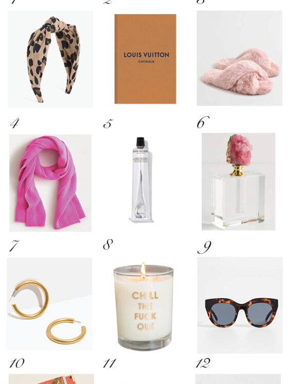Top 100 Gift Ideas for Her featured by top US life and style blog, Never Without Lipstick: Gifts for her under $75