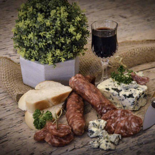 Saucisson Sec – Blue Cheese