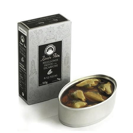 Mussels in Pickled Sauce (Mejillones)