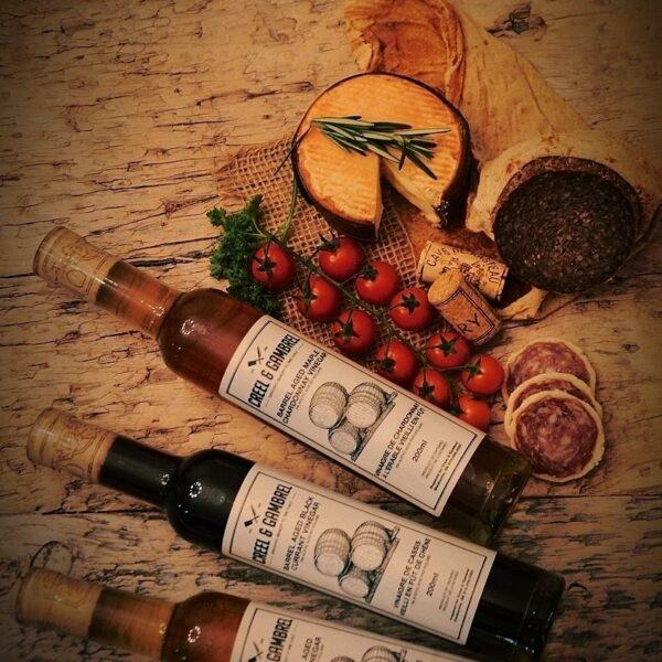 Barrel Aged Artisan Wine Vinegars