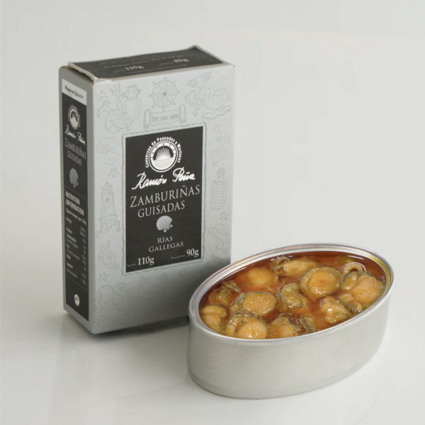 Scallops in Galician Sauce (Zamburinas)