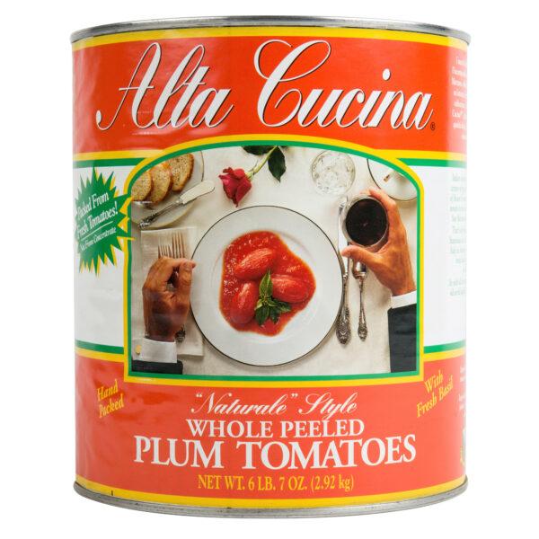 "Alta Cucina ""Naturale"" Style Plum Tomatoes"