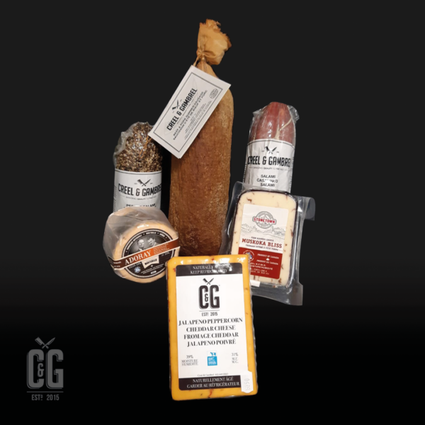 Home Charcuterie and Cheese Gourmand Pack