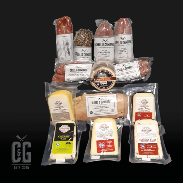 Home Charcuterie and Cheese Aficionado Pack