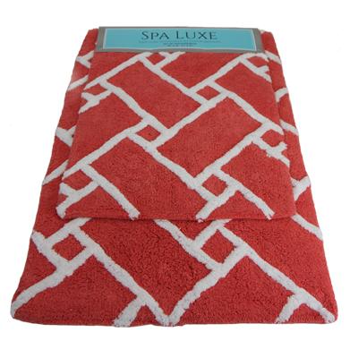 Spa Luxe Cotton Bath Rug Set