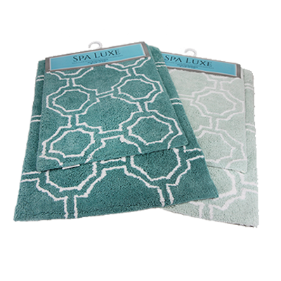 Spa Luxe Cotton Bath Rug Sets