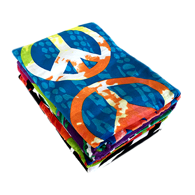 Fiber Reactive Beach Towels (B)